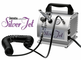 Iwata Silver Jet IS-50 Airbrush Compressor