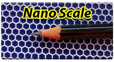 AEROSPACE Airbrush Stencils -  Nano Scale Series