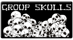 "AEROSPACE Airbrush Stencils - <BR><font color=""333333""> Group Skull Series</font>"