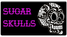 AEROSPACE Airbrush Stencils - Sugar Skulls Series