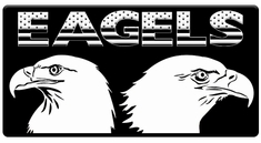 "AEROSPACE Airbrush Stencils - <br><font color=""Blue""> Eagle Series</font>"