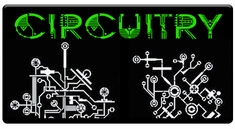 "AEROSPACE Airbrush Stencils - <font color= ""00FF00"" > Circuitry Series</font>"