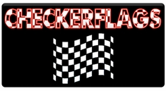 AEROSPACE Airbrush Stencil - RACING FLAGS