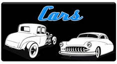 "AEROSPACE Airbrush Stencils -<BR><font color=""3399FF"">Cars Series</font>"