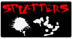 "AEROSPACE Airbrush Stencils - <font color=""red"">Splatter Series</font>"