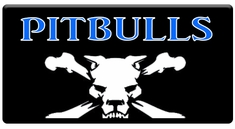 "AEROSPACE Airbrush Stencils - <font color=""0000FF"">Pitbulls</font>"