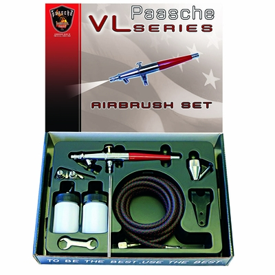 Paasche VL-Set - Double Action Airbrush