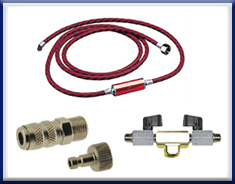 Hoses, Valves, Adapters Etc.