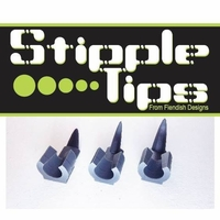 Stipple Tips - Airbrush Spatter FX Accessory