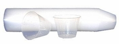 1 oz Solvent-Proof Incrimented Mixing Cups - 100pk