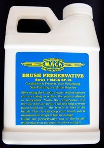 Mack Brush Preservative 16oz