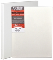 Fredrick's Artist Series Red Label Stretched Canvas