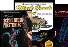 Pinstriping DVDs