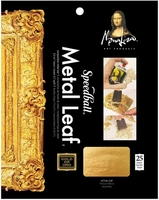 MONA LISA COMPOSITION GOLD LEAF SHEETS 25 PACK