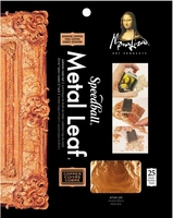 MONA LISA GENUINE COPPER LEAF SHEET 25 PACK