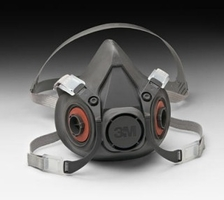 3M 7026 Half Face Reusable Respirator - Large