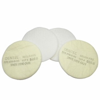 Replacement Filters pads for PAASCHE 99 & 80 Resp. (4 Pack)
