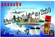 Paasche Single Action Traveler's Kit with Pressure Can 2P-H