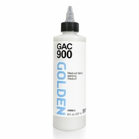 8oz Golden GAC 900 Acrylic Polymer for Clothing Artists