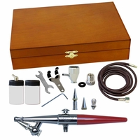 Paasche H Single Action Wood Box Set  H-3WC