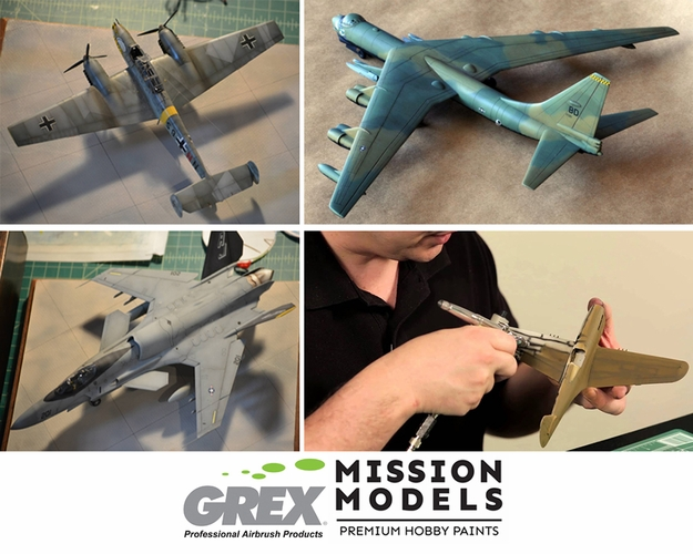 Model Aircraft Airbrushing Workshop with Bryant Dunbar - Saturday October 2nd, 11am to 3pm