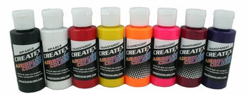 Createx Kent Lind Airbrush Set of 8 Colors - Warm