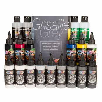 Air, Oil, Lead Grisaille Grey - Master Set Modern Edition