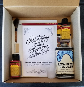 Pinstriping Workshop In A Box!