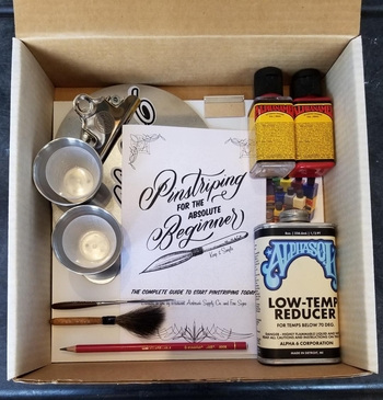 Pinstriping Workshop In A Box Deluxe!