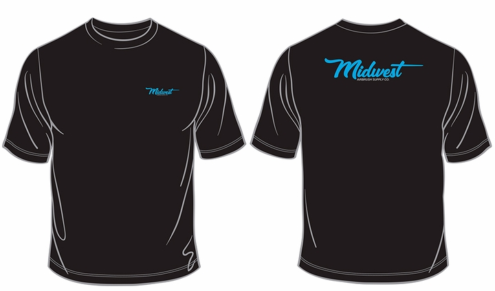 Midwest Airbrush Supply Co. T-Shirt - Large