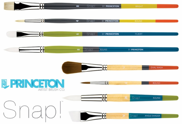 Princeton Snap!™ Brushes