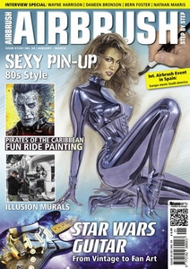 AIRBRUSH STEP BY STEP MAGAZINE ISSUE #54 - WINTER 2020