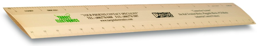 "12"" Engineering Scale Rulers Custom Imprinted Promotional Products"