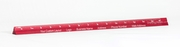 """6"""" Red Mini Metric Mechanical Scale Custom Imprint Promotional Product"""