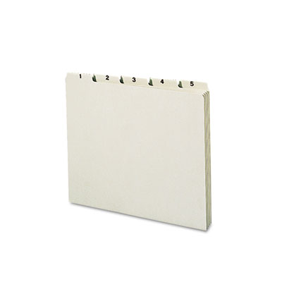 Smead Recycled Top Tab File Guides SMD50365