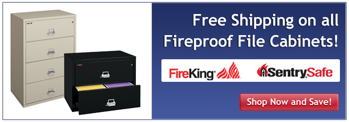 Free Shipping on All Fireproof file cabinates