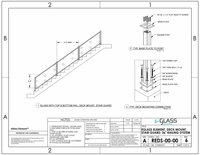 """Element Deck Mount Stairs - 36"""""""