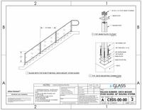 """Element Deck Mount Stairs - 42"""""""