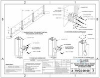 """Vision Fascia Mount Stairs - 36"""""""