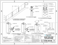 """Vision Deck Mount Stairs - 42"""""""