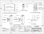 eGlass Vision™ System Drawings - Deck Mount