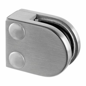 Stainless Steel Glass Clamps Round