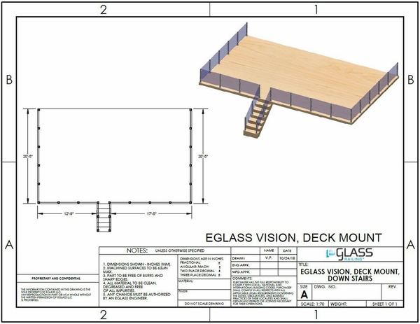 Silver Vision Lower Deck Project Specifications