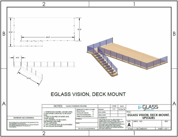 Silver Vision Upper Deck Project Specifications