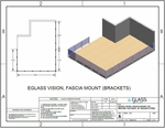 White Vision Fascia Mount with Brackets Deck Project Specifications