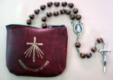 Divine Mercy Rosary - Wood
