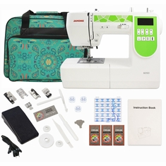 Janome 6050 Computerized Sewing Machine w/ Free Bonus Package!