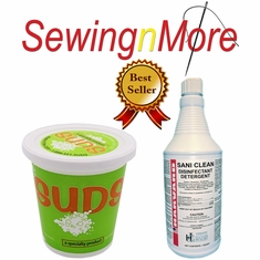 Sani Clean Virucidal Disinfectant + Suds All Purpose Water-Based Cleaner Combo Package!