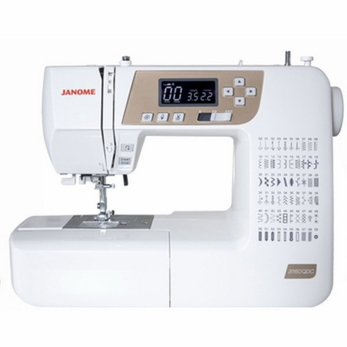 Janome 3160QDC-T Gold Computerized Sewing & Quilting Machine