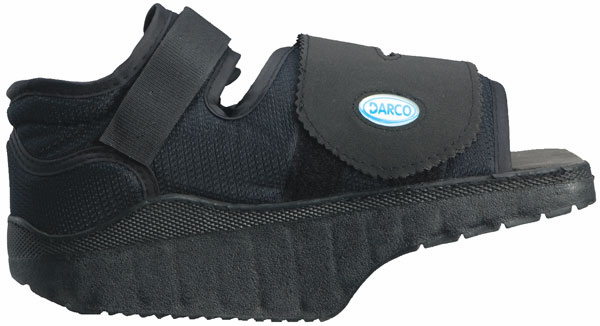 Darco Orthowedge Offloading Shoe.